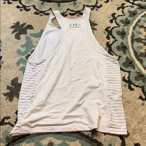 Under Armour Tops - Green back packers women racer back tank top